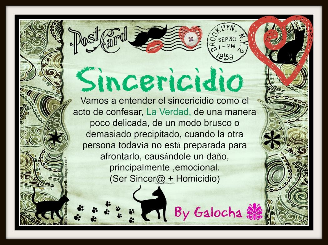 sincericidio
