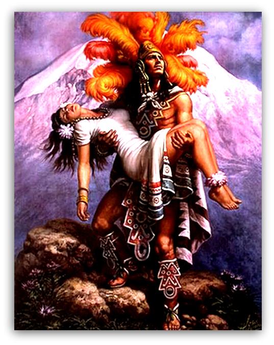 Muerte de Iztaccíhuatl