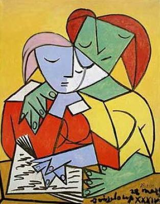 Picasso - Dos mujeres leyendo